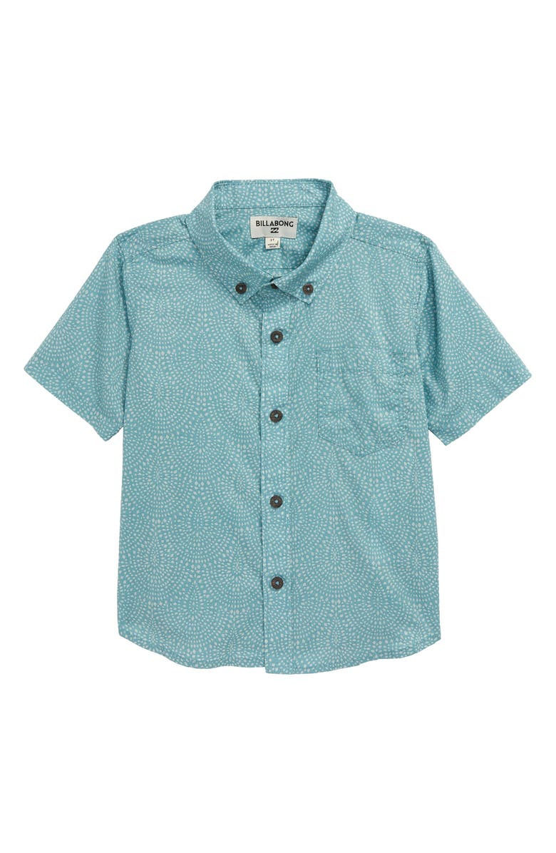 BILLABONG Sundays Mini Woven Shirt, Main, color, 404