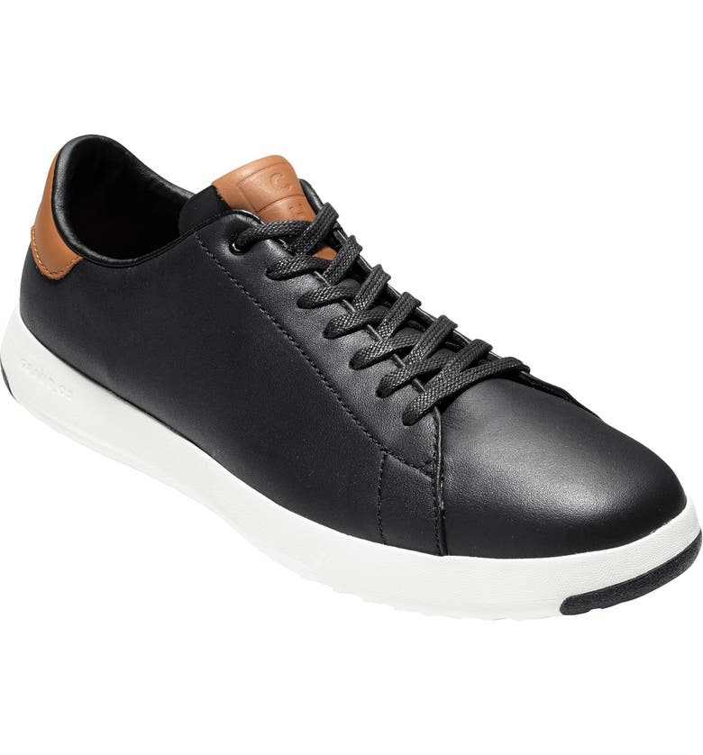 COLE HAAN GrandPro Tennis Sneaker, Main, color, BLACK/ BRITISH TAN