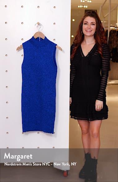 Rissy Metallic Sweater Dress, sales video thumbnail