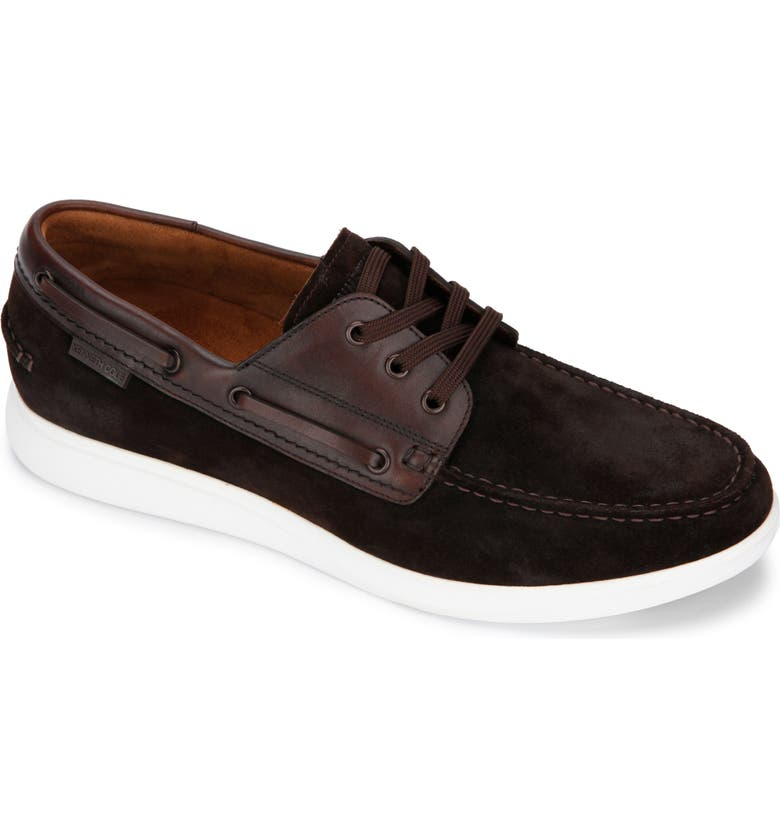 KENNETH COLE NEW YORK Rocketpod Boat Shoe, Main, color, BROWN