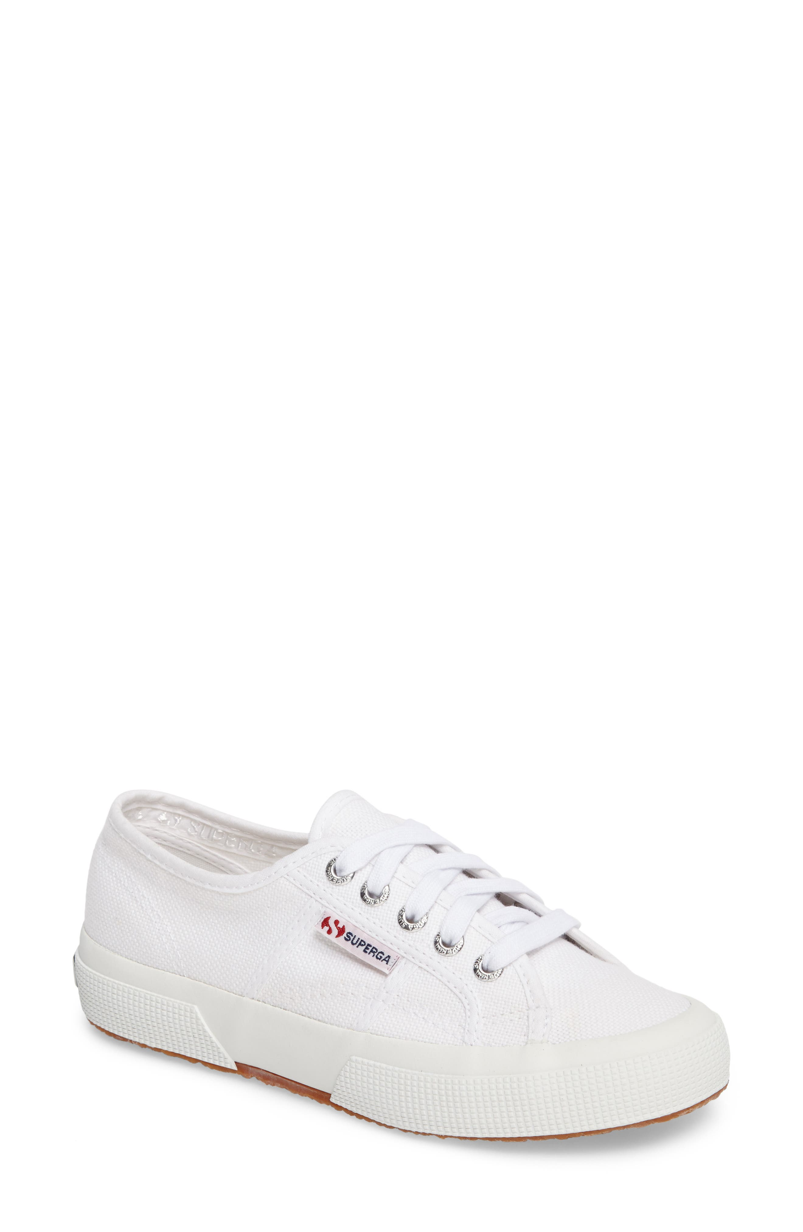 'Cotu' Sneaker, Main, color, WHITE CANVAS