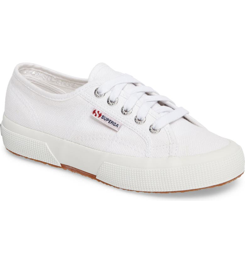 'Cotu' Sneaker, Main, color, WHITE CANVAS