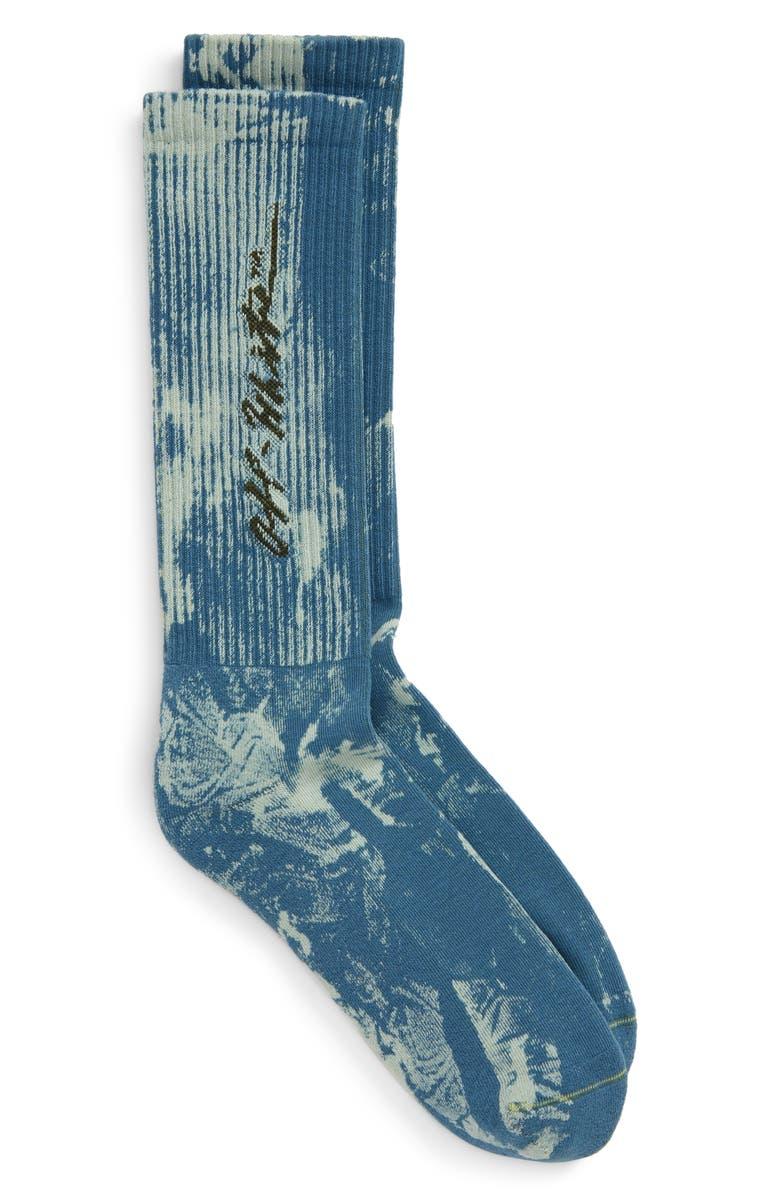 OFF-WHITE Tie Dye Socks, Main, color, 400