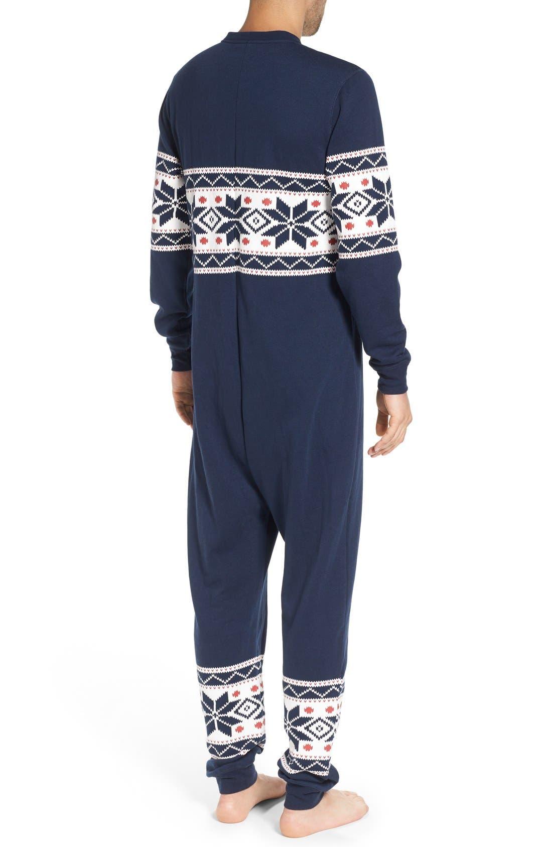 ,                             Fleece One-Piece Pajamas,                             Alternate thumbnail 29, color,                             420