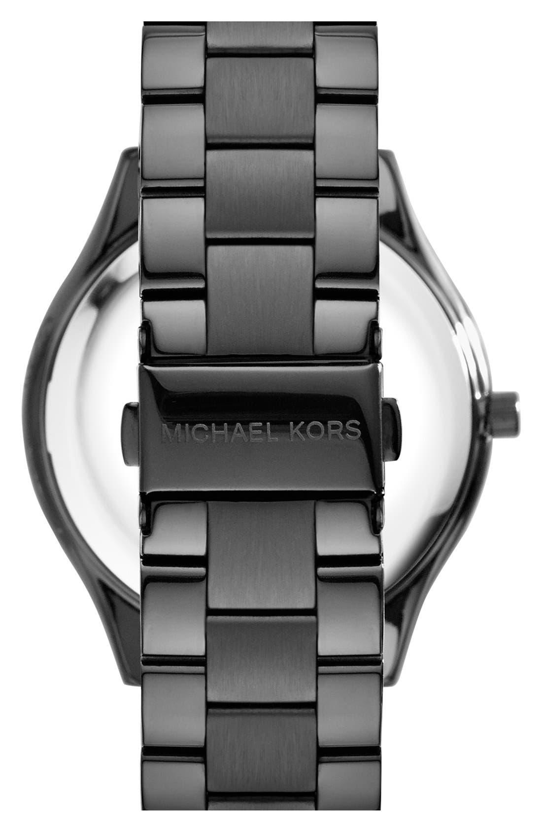 ,                             'Slim Runway' Bracelet Watch, 42mm,                             Alternate thumbnail 12, color,                             002