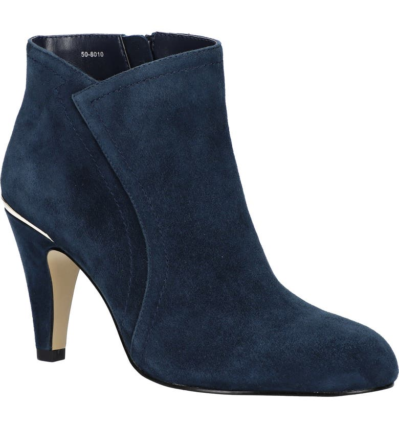 BELLA VITA Phyllis Bootie, Main, color, NAVY SUEDE