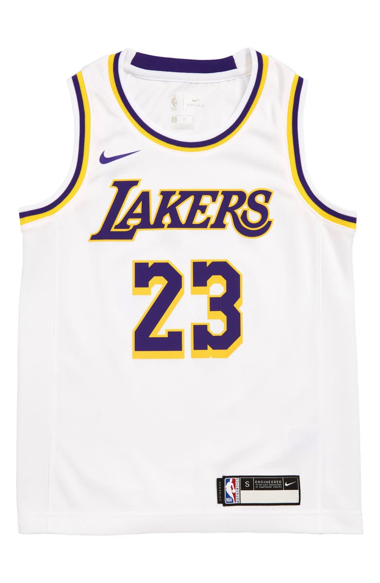 cheaper c5877 87133 Nike Los Angeles Lakers LeBron James Basketball Jersey (Big ...
