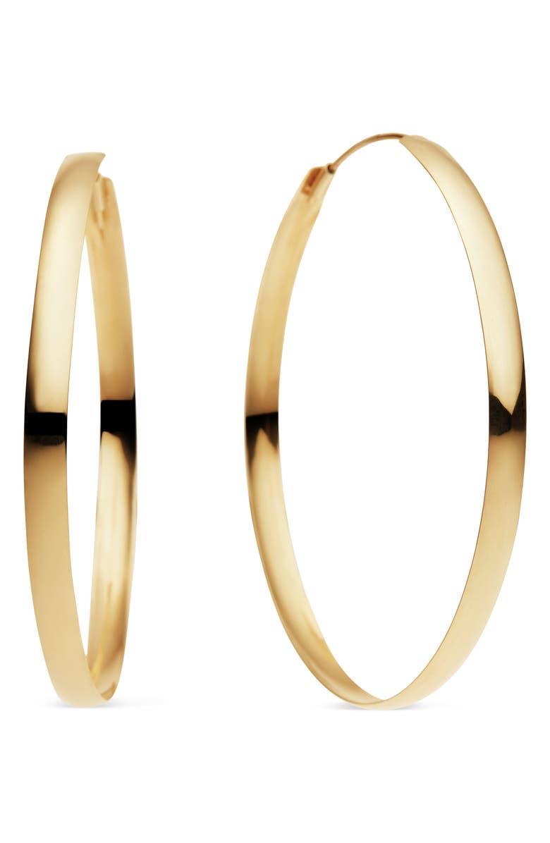 Lana Jewelry Curve Magic Hoop Earrings