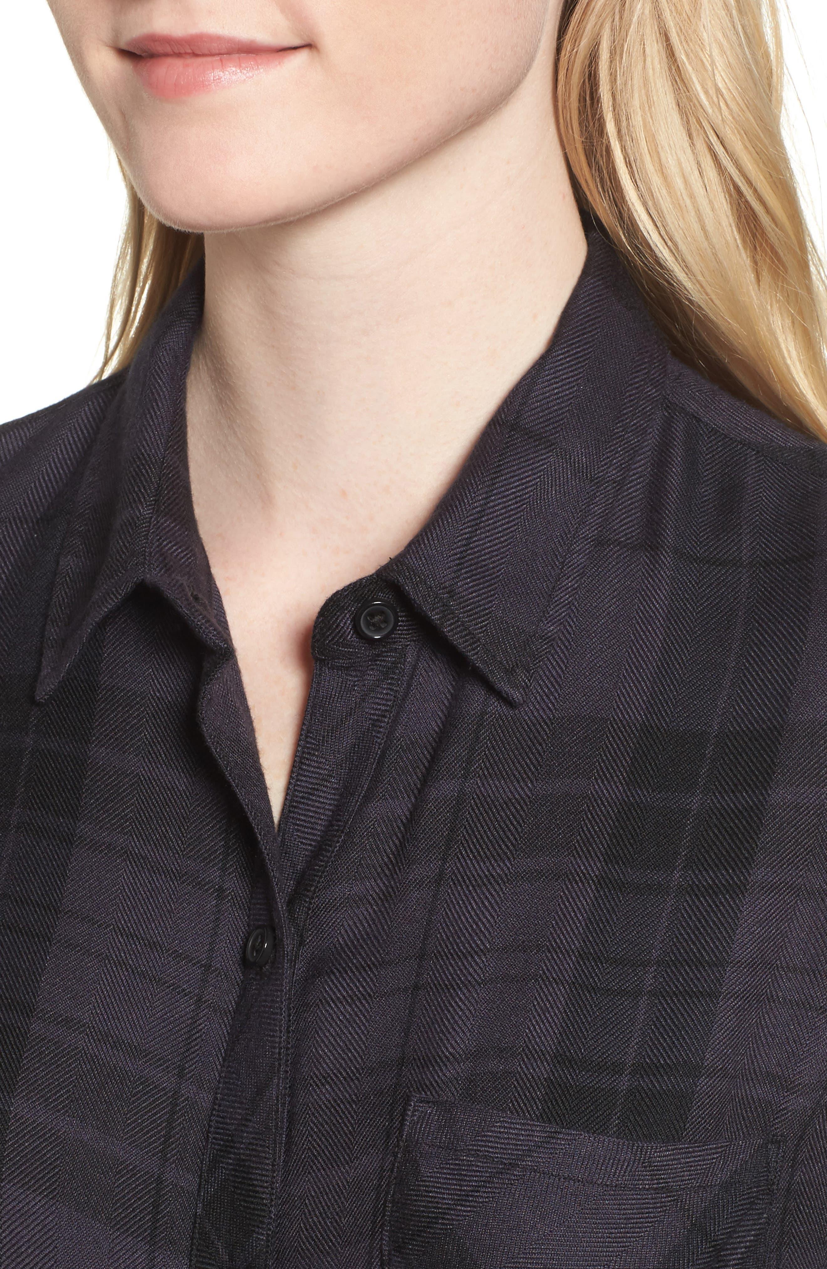 ,                             Hunter Plaid Shirt,                             Alternate thumbnail 477, color,                             001