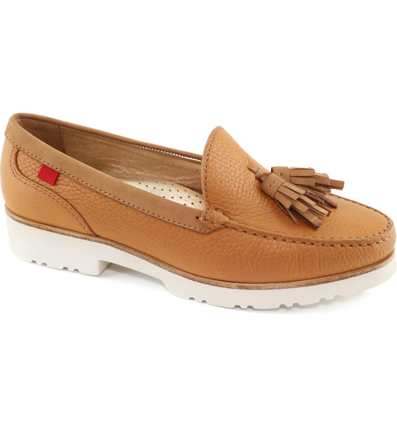 MARC JOSEPH NEW YORK New Brighton Platform Loafer, Main, color, TAN TUMBLED LEATHER
