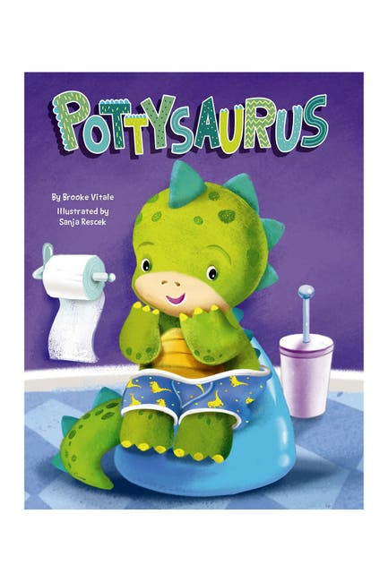 Image of LITTLE HIPPO BOOKS Pottysaurus