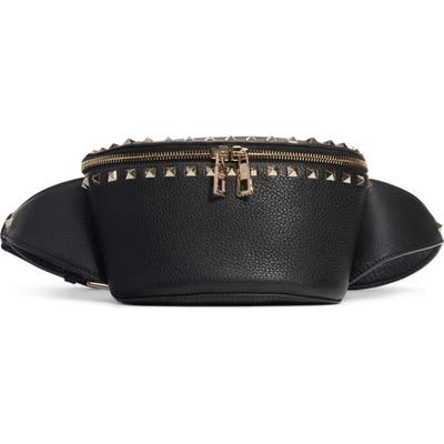 Valentino Garavani Rockstud Belt Bag - Black