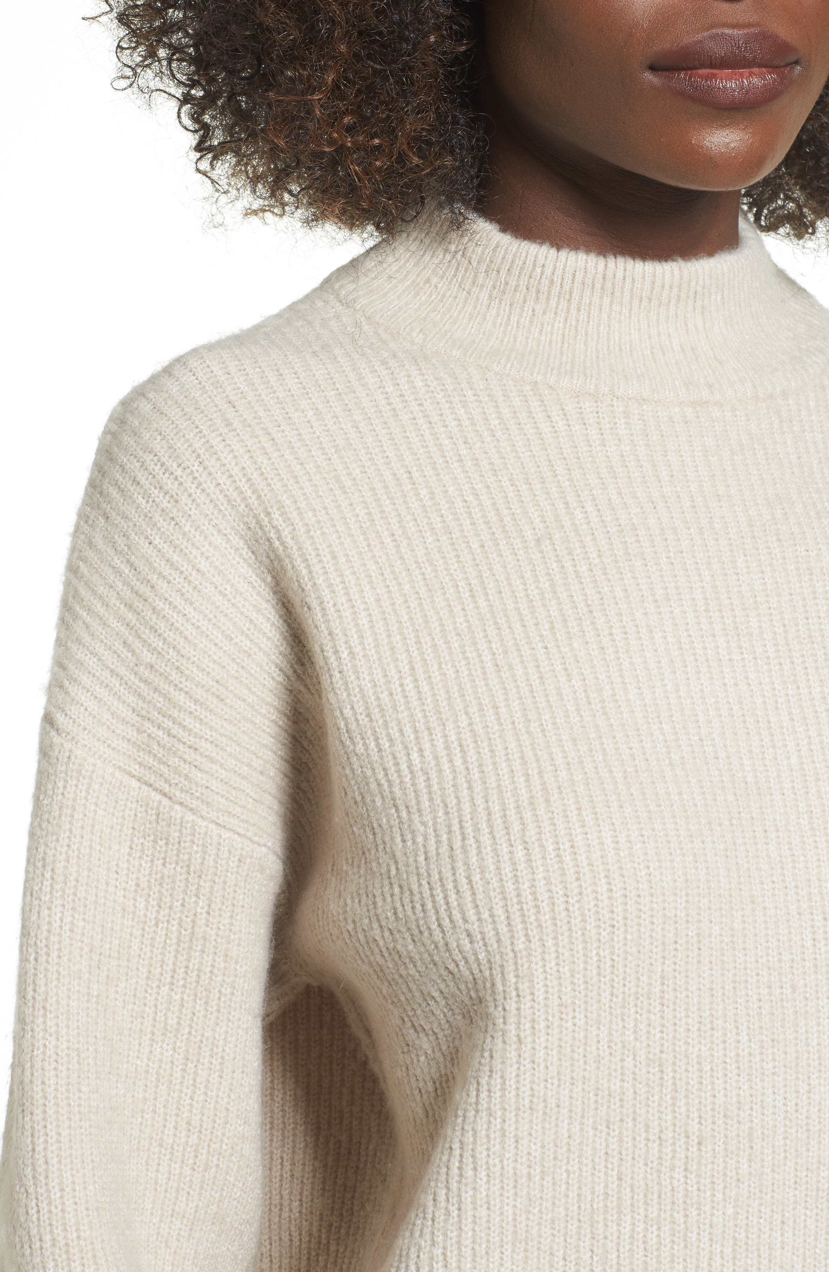 ,                             Cozy Ribbed Pullover,                             Alternate thumbnail 4, color,                             050
