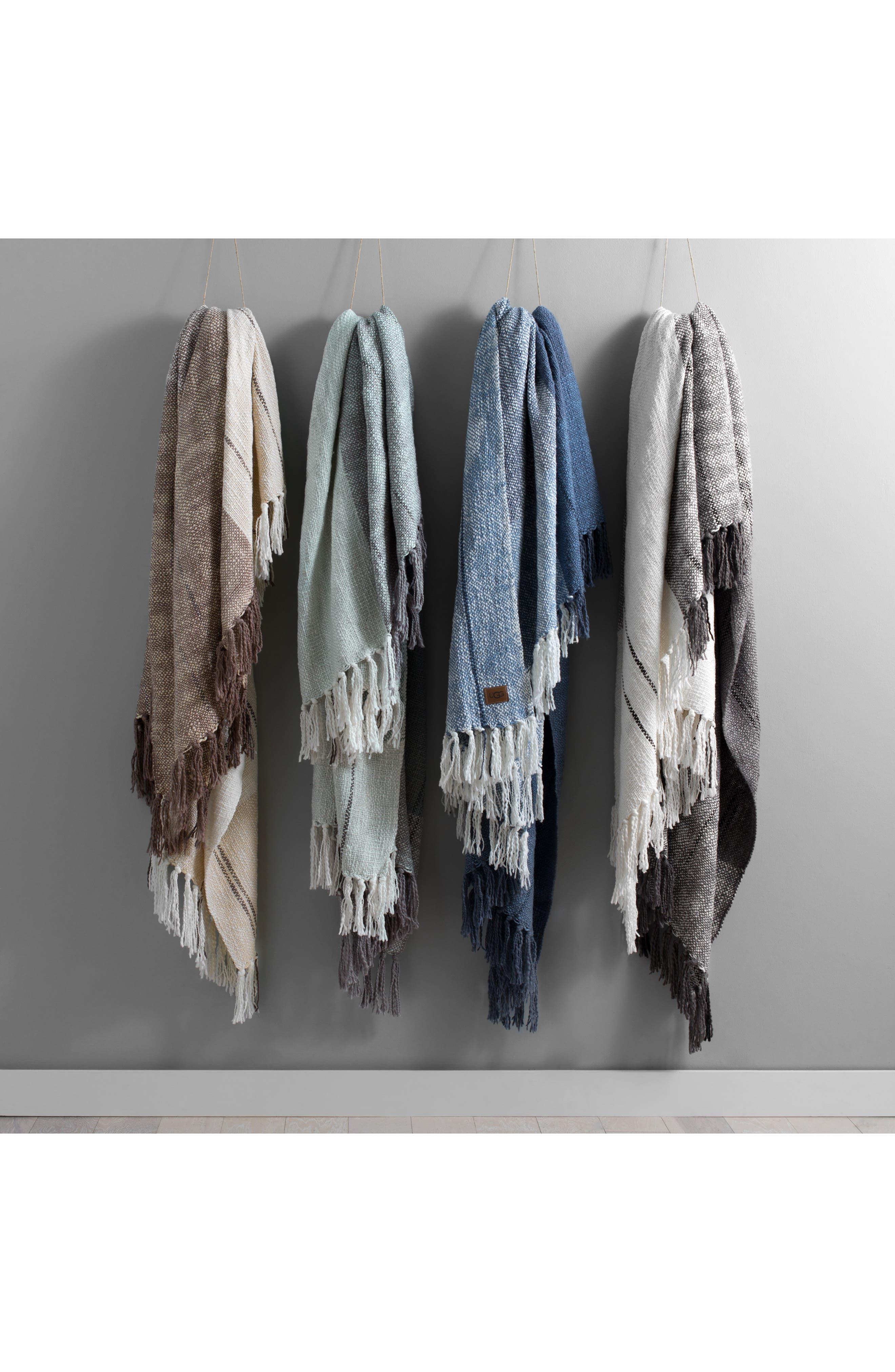 ,                             Benson Throw Blanket,                             Alternate thumbnail 2, color,                             SEAL MULTI