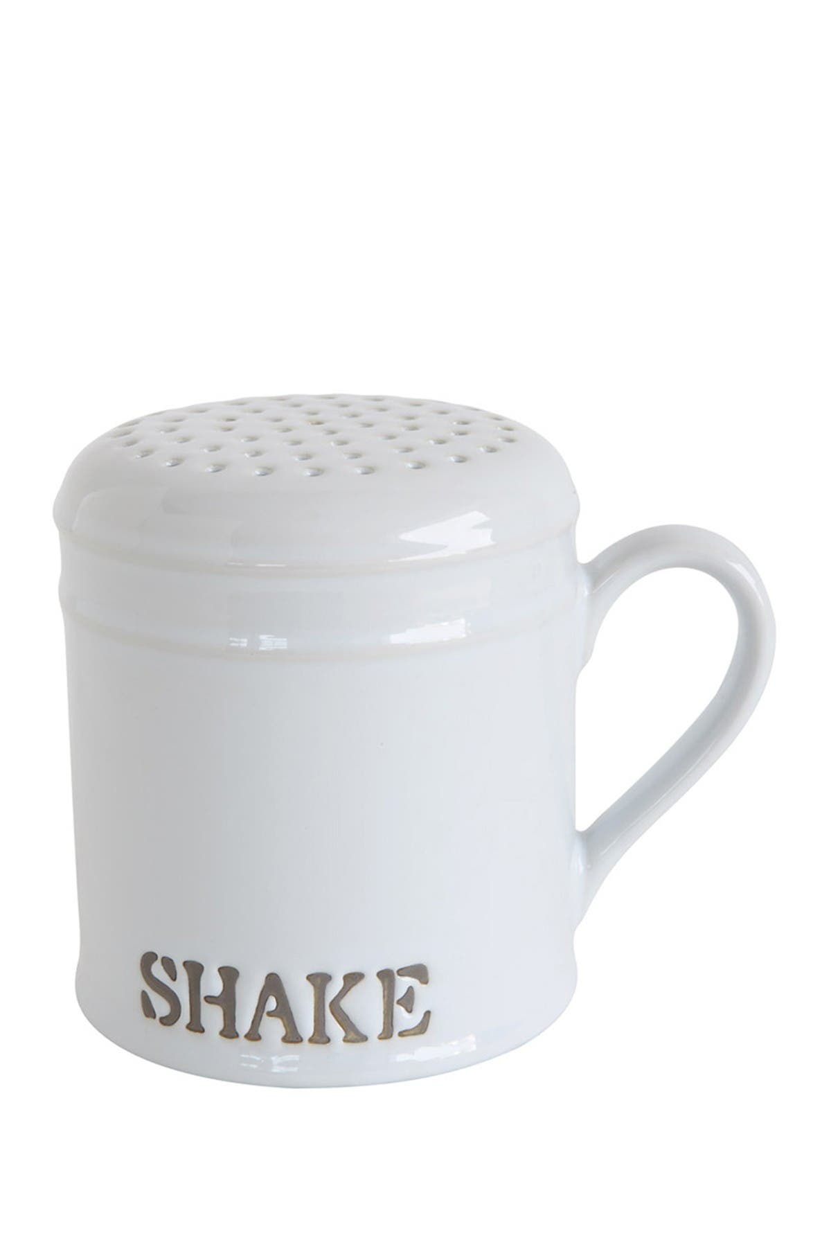 Image of Creative Co-op White Stoneware Kitchen Shaker