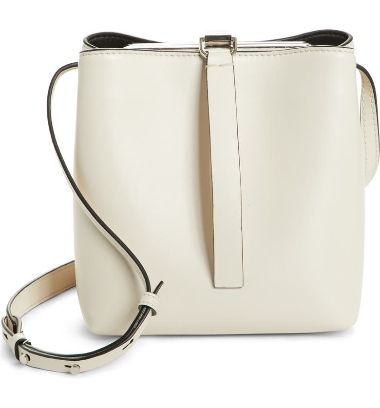 PROENZA SCHOULER Frame Leather Crossbody Bag, Main, color, 900