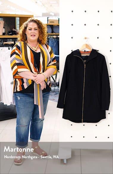 Finlay Waterproof Hooded Wool Blend Coat, sales video thumbnail