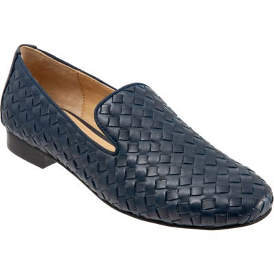 Trotters Gracie Loafer W - Blue