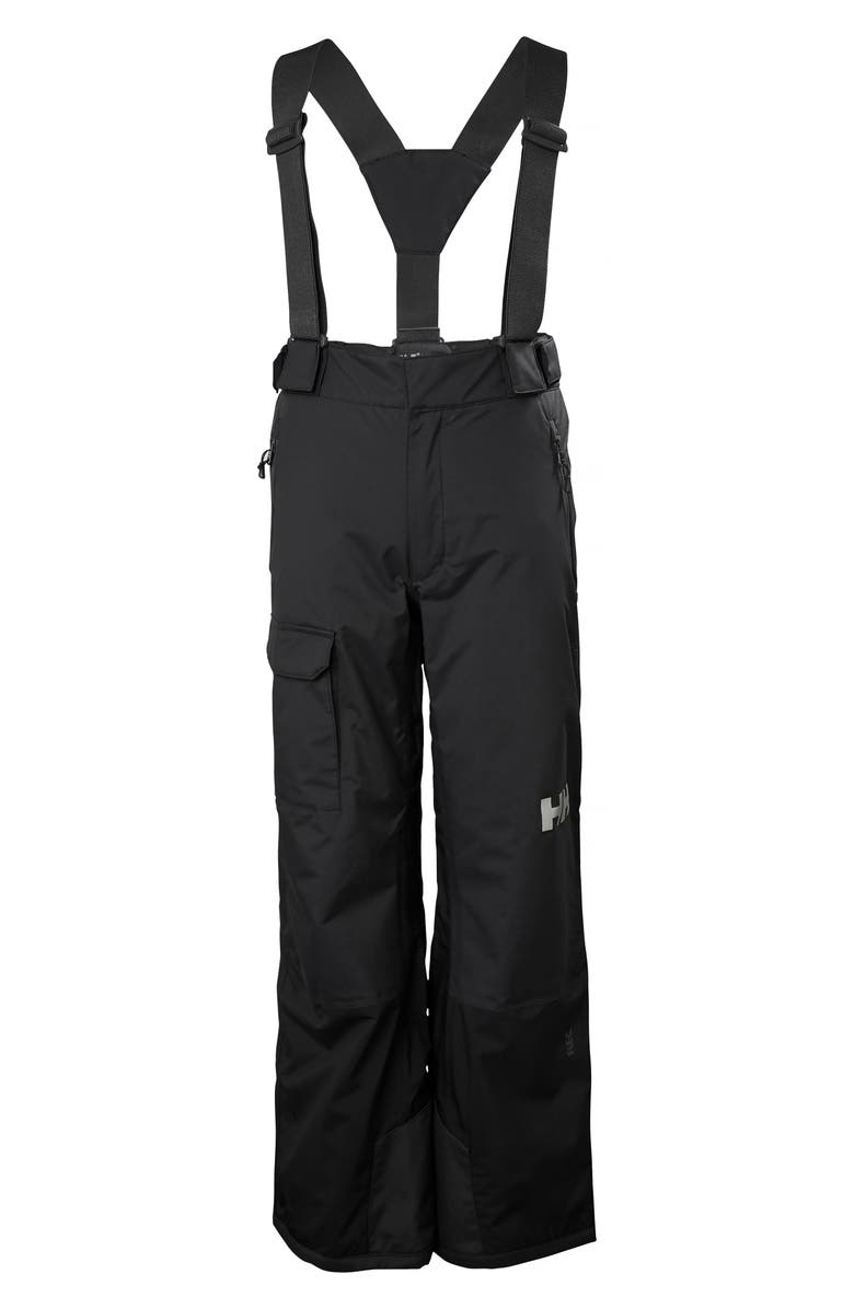 HELLY HANSEN No Limits Waterproof PrimaLoft<sup>®</sup> Insulated Snow Pants, Main, color, BLACK