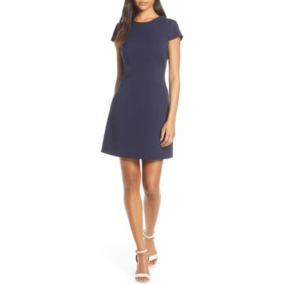 Harper Rose Short Sleeve Dress, Blue