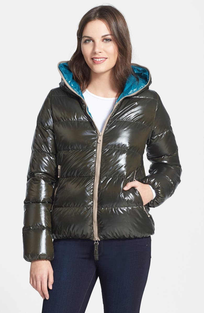 hot sales e57e1 fff0d Duvetica 'Thia' Hooded Packable Goose Down Jacket | Nordstrom