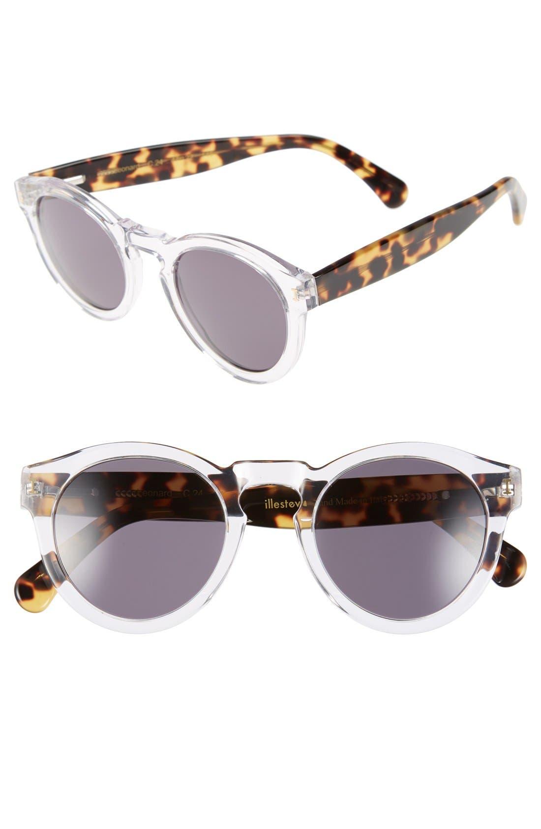 ,                             'Leonard' 47mm Sunglasses,                             Main thumbnail 51, color,                             107