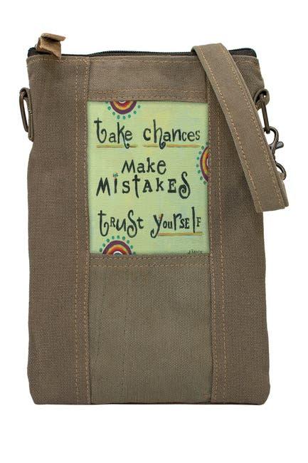Image of Vintage Addiction Take Chances Tent Crossbody Bag