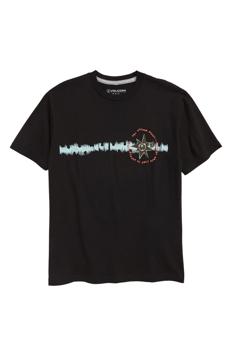 VOLCOM Mag Sketch Graphic T-Shirt, Main, color, 001