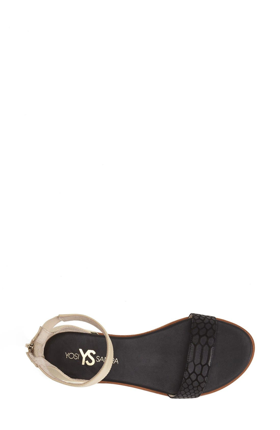 ,                             'Cambelle' Ankle Strap Sandal,                             Alternate thumbnail 9, color,                             003