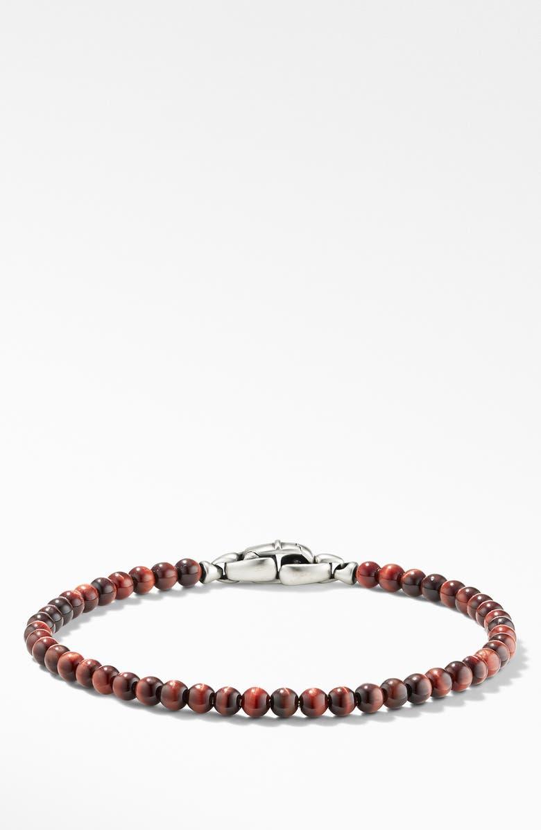 DAVID YURMAN Spiritual Beads Bracelet, Main, color, RED TIGERS EYE