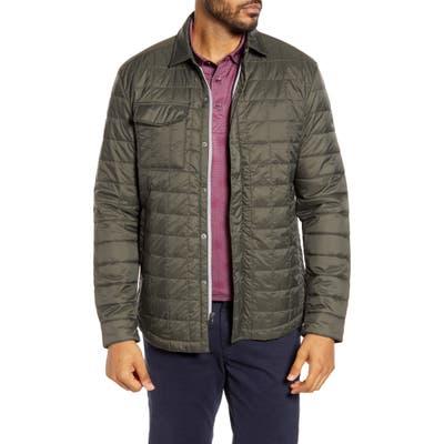 Cutter & Buck Rainier Primaloft Insulated Shirt Jacket, Green