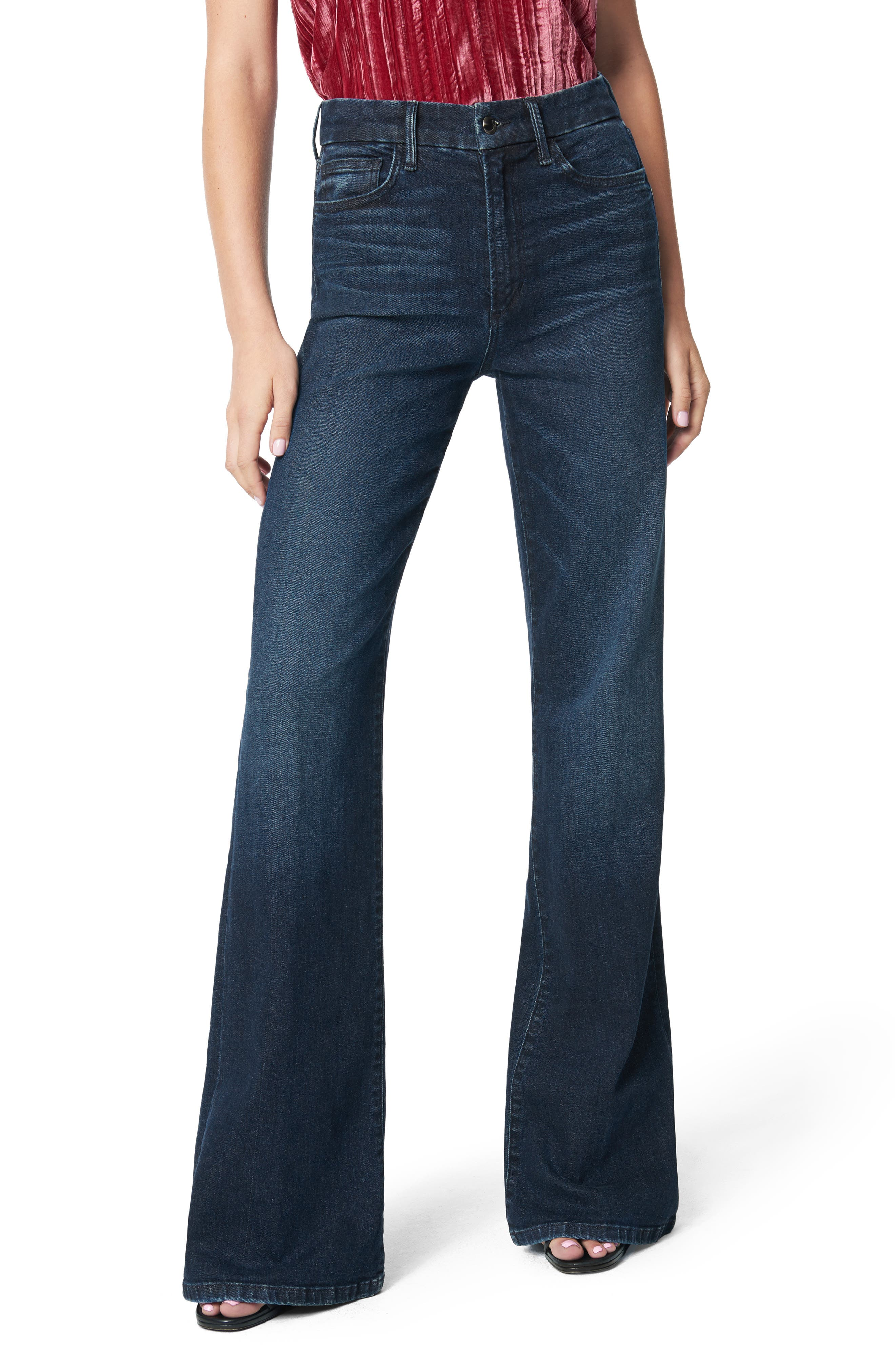 Joe's The Molly High Waist Flare Jeans (Badlands)