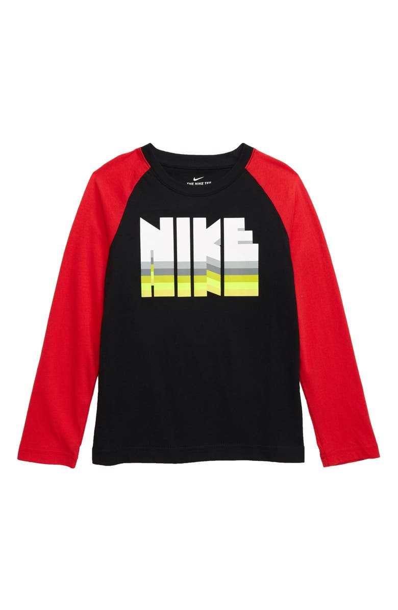 NIKE Reverb Graphic Raglan Shirt, Main, color, 019