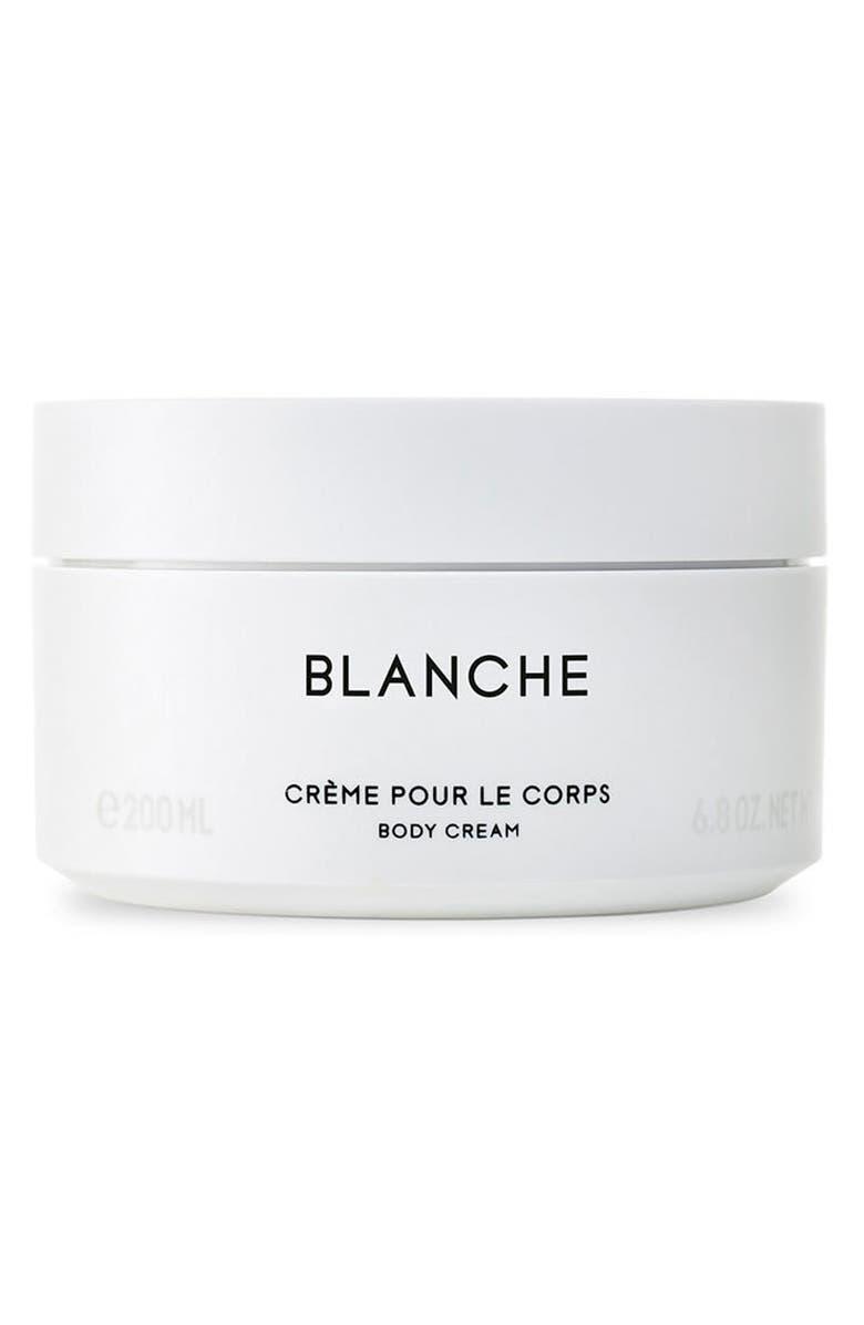 BYREDO Blanche Body Cream, Main, color, 000