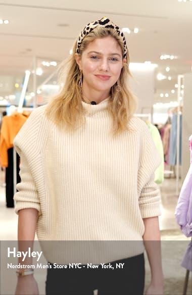 Contrast Pocket Pull-On Cotton Blend Pants, sales video thumbnail