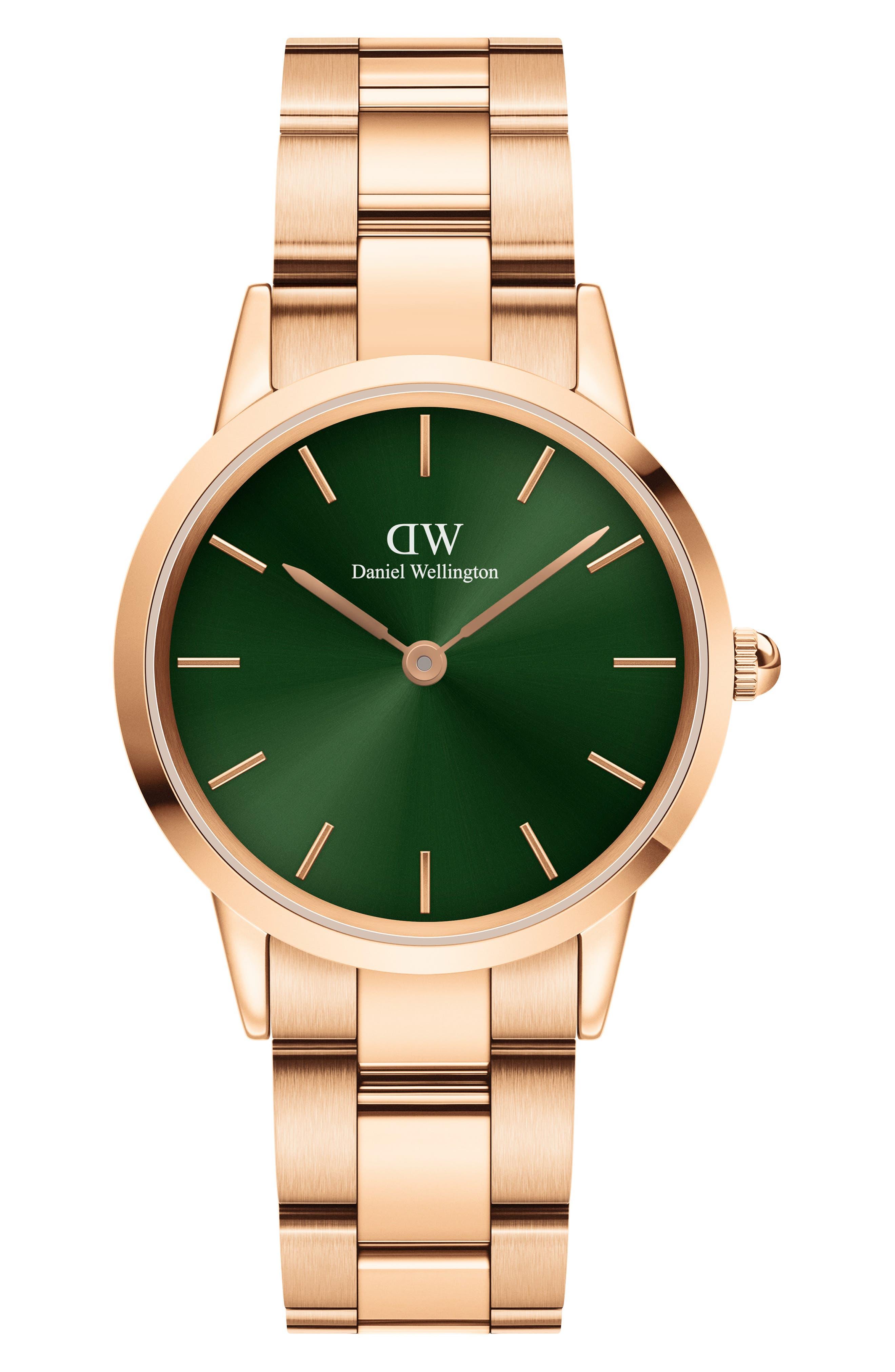 Iconic Link Emerald Bracelet Watch