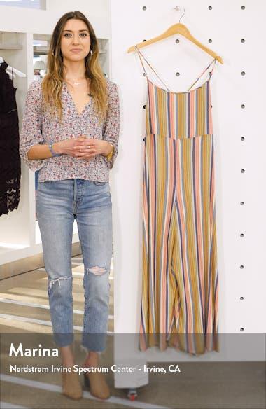 Juls Stripe Jumpsuit, sales video thumbnail