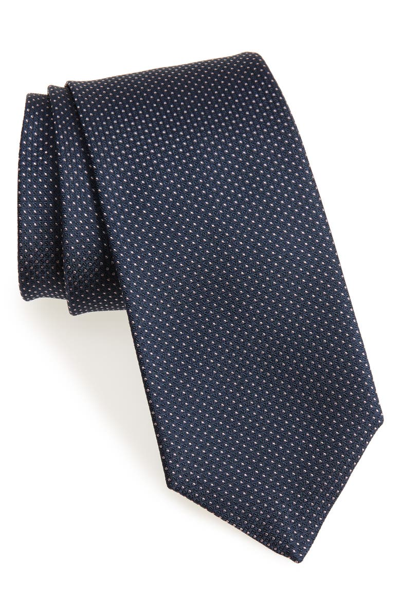 BOSS Dot Tie, Main, color, 401