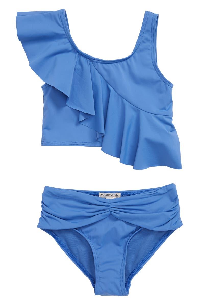 HABITUAL Girl Two-Piece Tankini, Main, color, BLUE