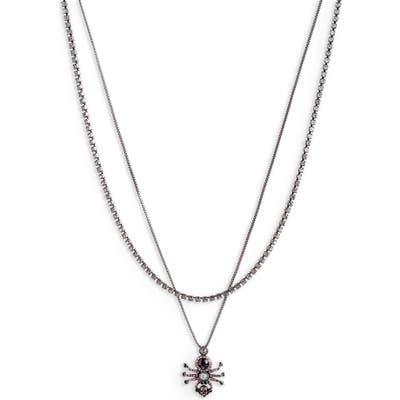 Alexander Mcqueen Spider Layered Necklace