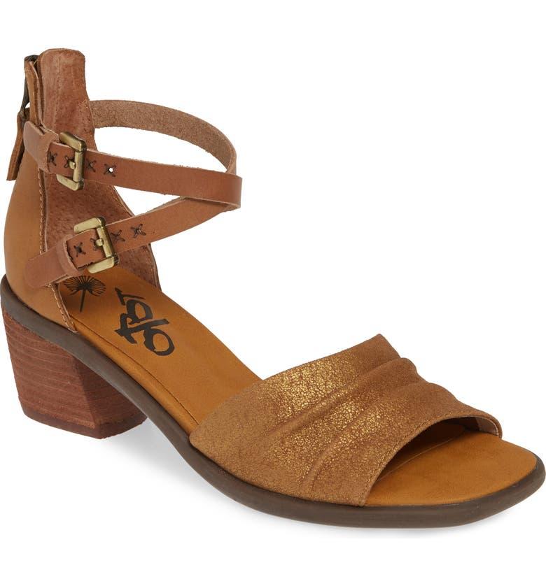 OTBT Boarder Sandal, Main, color, STERLING LEATHER