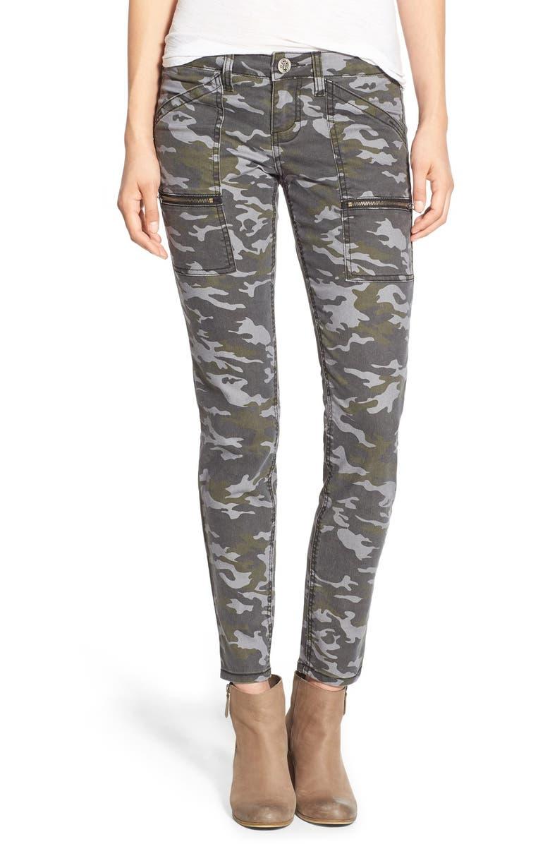 STS BLUE Camo Print Cargo Pants, Main, color, 317