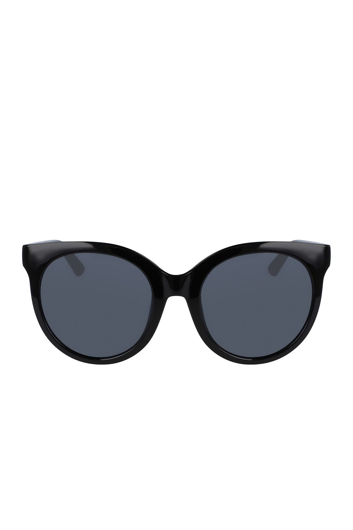 Image of Cole Haan 53mm Oversized Round Sunglasses