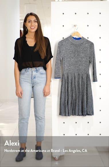 Noaleen Metallic Pleated Dress, sales video thumbnail