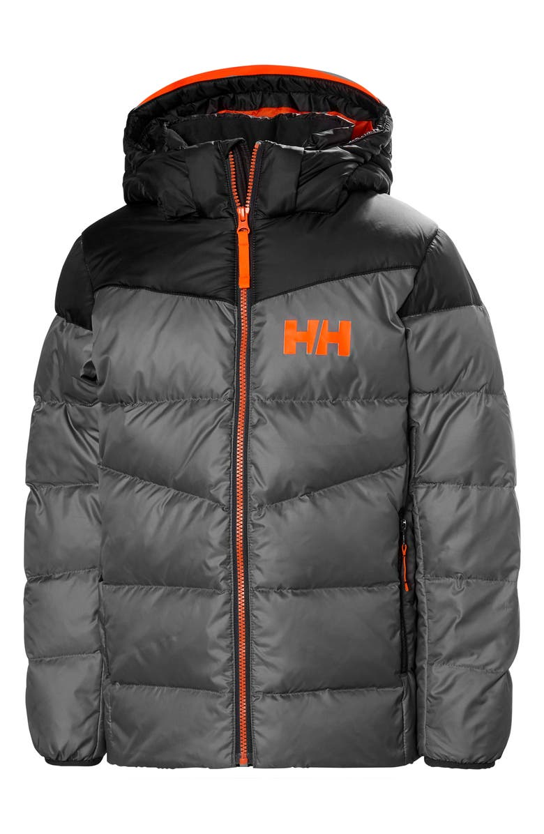 HELLY HANSEN Fjord Water Resistant Puffer Jacket, Main, color, QUIET SHADE
