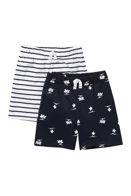 Image of Joe Fresh Print Shorts - Pack of 2