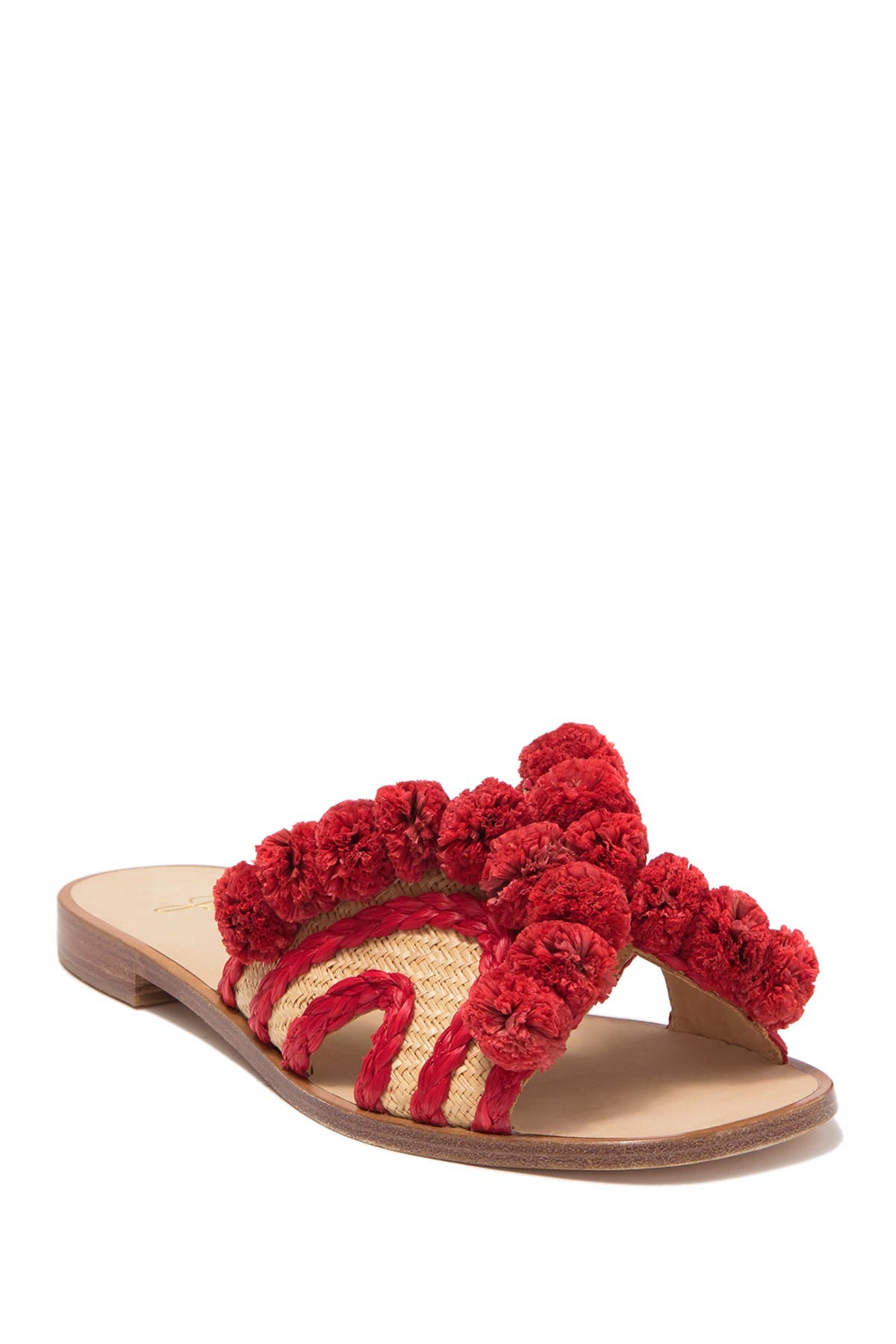 Image of Joie Paden Pompom Slide Sandal