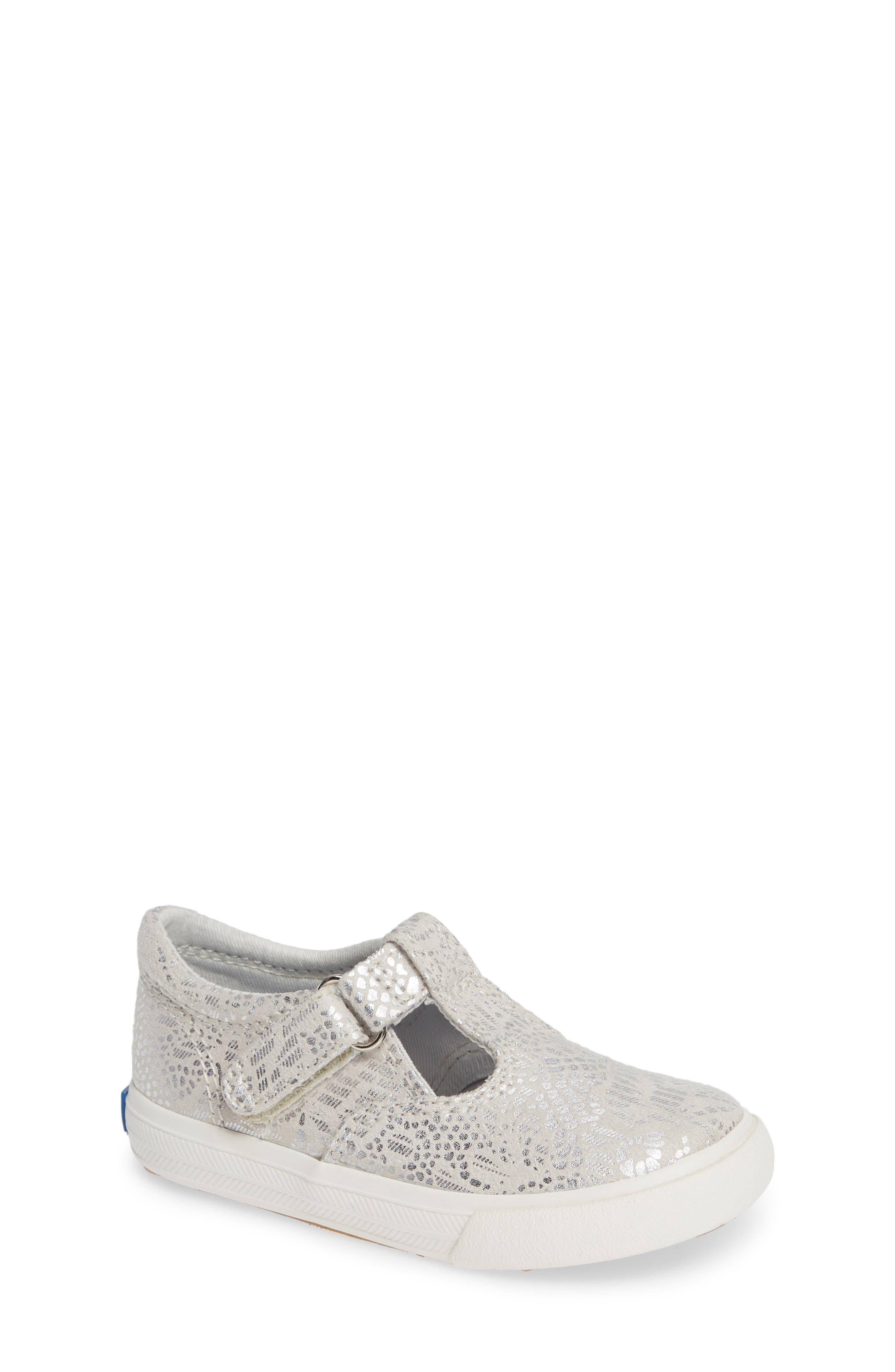 Infant Girls Keds Daphne TStrap Sneaker Size 4 M  Blue