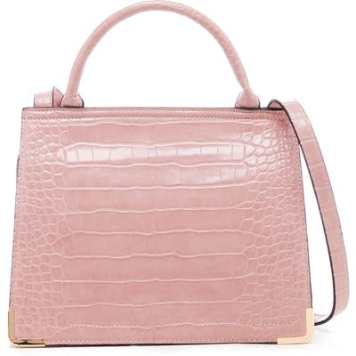 Sole Society Faux Leather Crossbody Bag - Pink