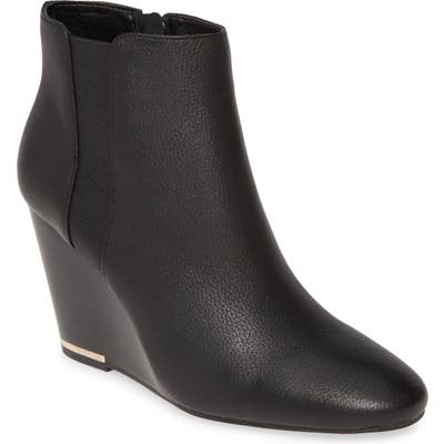 Kenneth Cole New York Merrick Wedge Bootie- Black